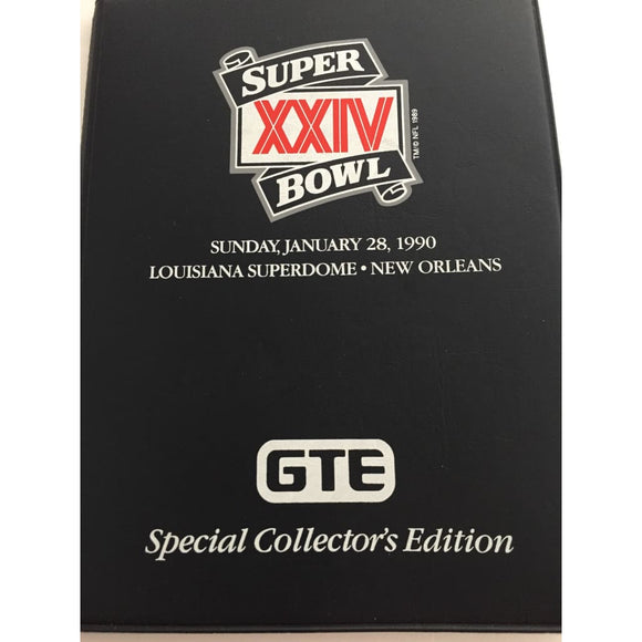 Super Bowl XXIV 1999 New Orleans Trading Card Collection - Vintage Collectibles
