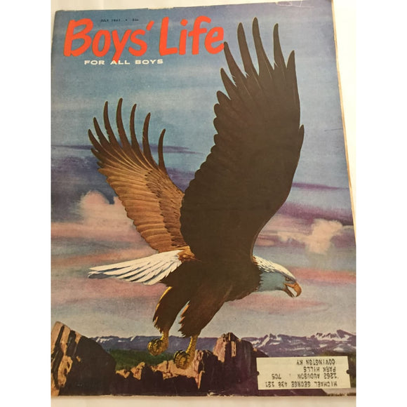 Vintage Boys Life Magazine July 1961 - Vintage Collectibles