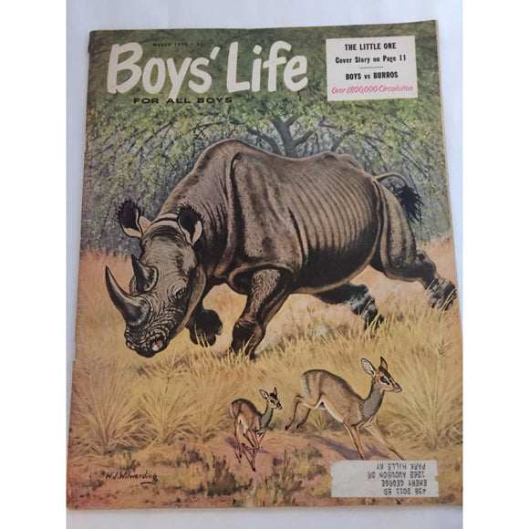 Vintage Boys Life Magazine March 1959 - Vintage Collectibles