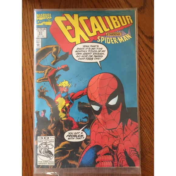Vintage Collectible Spiderman Comic Book 30th Anniversary 1990s - Vintage Collectibles