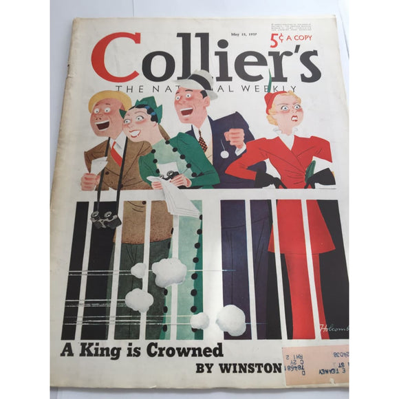 Vintage Colliers Magazine May 15 1937 - Vintage Collectibles