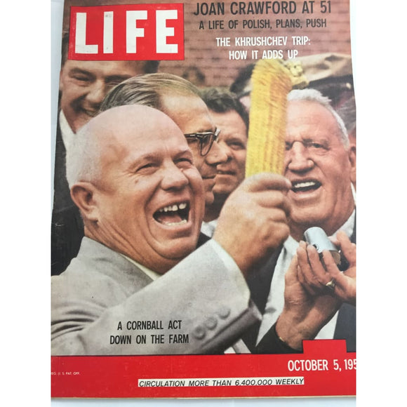 Vintage Life magazine October 5 1959 - Vintage Collectibles