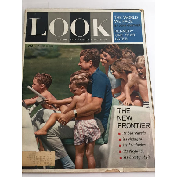 Vintage LOOK Magazine January 2 1962 - Vintage Collectibles
