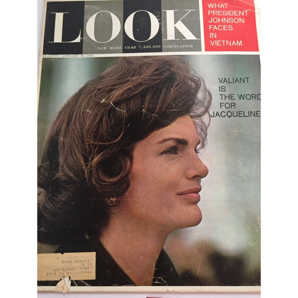 Vintage LOOK Magazine January 28 1964 - Vintage Collectibles