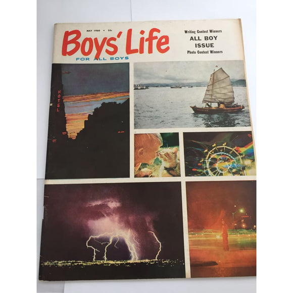 Vintage Magazine Boys life May 1960 - Vintage Collectibles