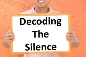 Decoding the Silence
