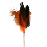 Orange Goose Feather Toy
