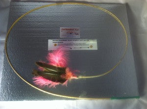 Pink Goose Feather Toy