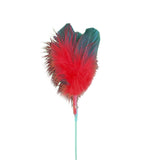 Red Goose Feather Toy
