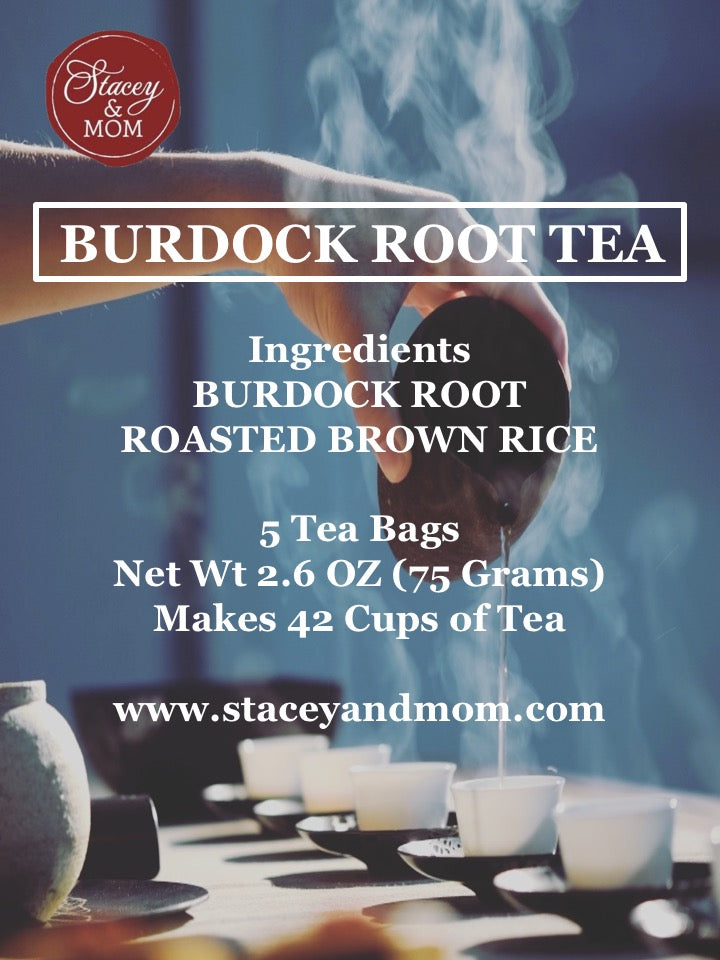 Whole Cut Burdock Root Tea