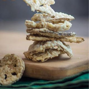 Lotus Root Chips, Vegan Gluten Free Snacks - Stacey&MOM
