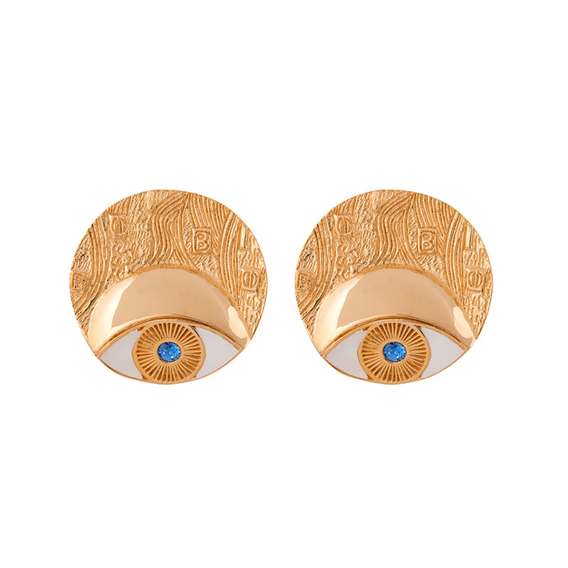Adele Circle Earrings