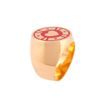 Jackpot Red Casino Ring