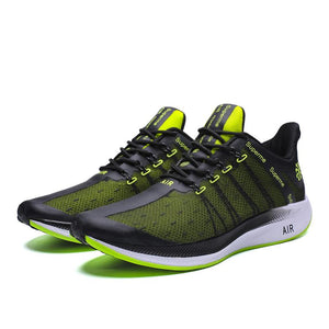 Shock-absorbing Mesh Trainers