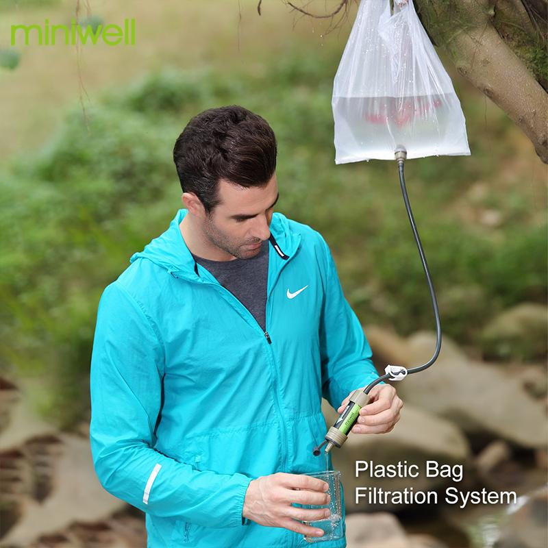 Miniwell™️ - Outdoors water filtration system with 2000 Liters filtration capacity