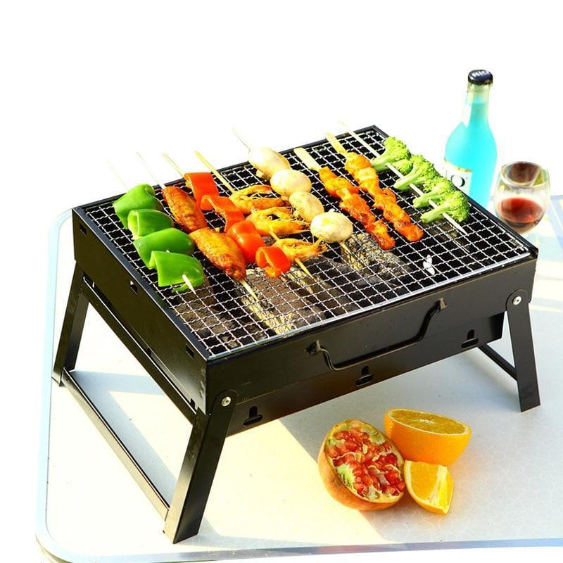 Portable All-In-One Outdoor Barbecue