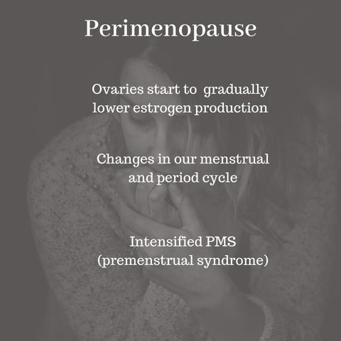 What happens at perimenopause