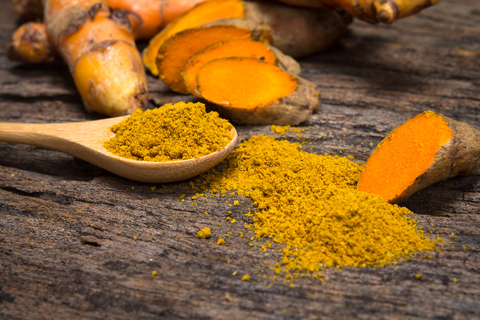 Curcumin with probiotic benefits