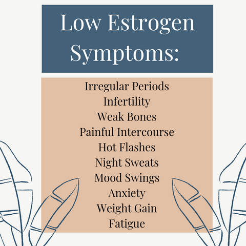 low estrogen symptoms, oestrogen