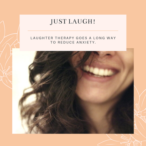 laughter therapy for menopause anxiety relief