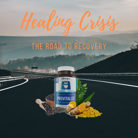 healing crisis, provitalize