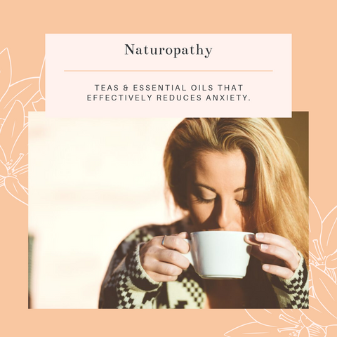 naturopathy for anxiety relief, menopause natural relief