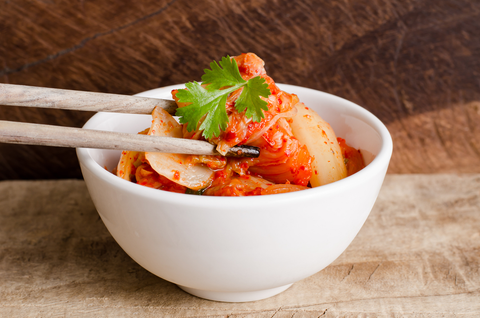 Kimchi probiotic for weight loss