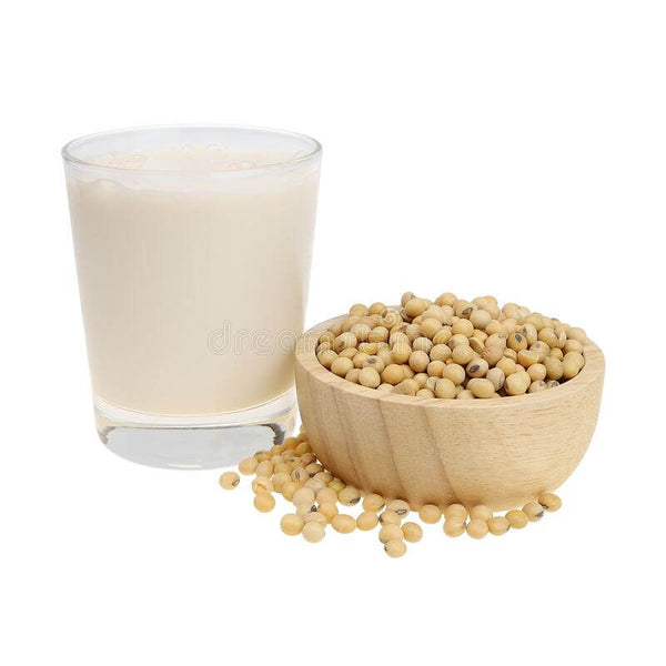 Soy Isoflavones in soy milk help with hormone balance