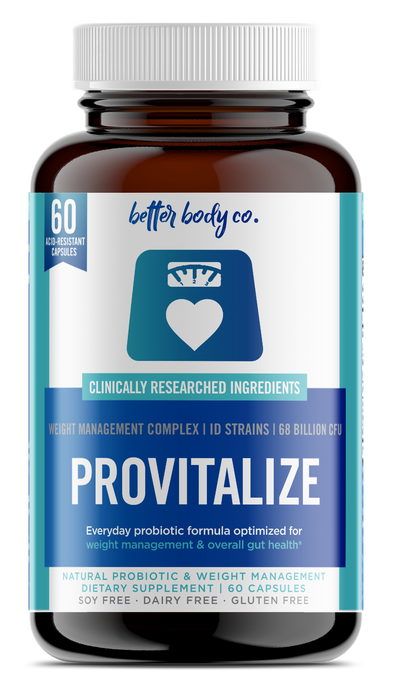 Provitalize | Best Natural Weight Management Probiotic - BetterBody.Co