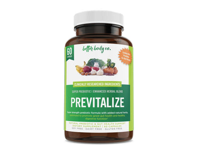 Previtalize 1 Bottle | Best Natural Weight Loss Super Prebiotic - New2