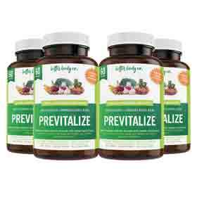 Previtalize 4 Bottles | Best Natural Weight Loss Super Prebiotic