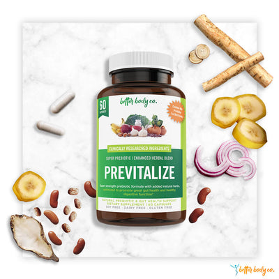 Previtalize | Best Natural Weight Loss Super Prebiotic