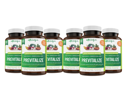 Previtalize 6 Bottles | Purchase with Purchase Bundle