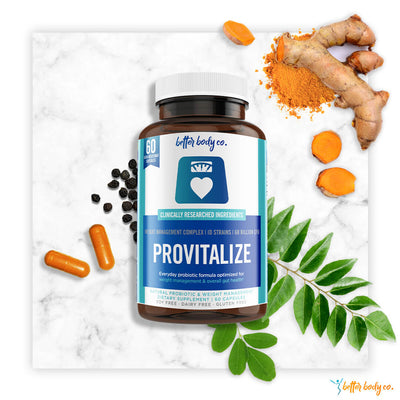 Provitalize | Best Natural Weight Management Probiotic-Better Body Co.
