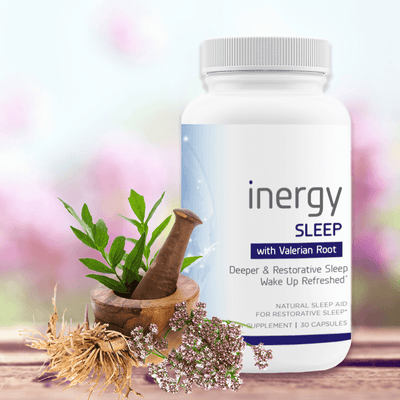 inergySLEEP 1 Bottle | Best Natural Sleep Support - New1