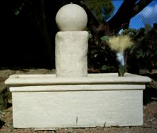 Trough with Medium Column and Ball