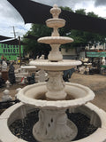 Italian with Dimond four tier fountain