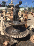 2 tier Cambridge fountain with pourer lady vail