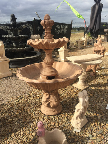 Corinthian 2 tier with acorn fountain
