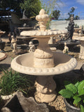 Diamond 2 tier fountain with acorn