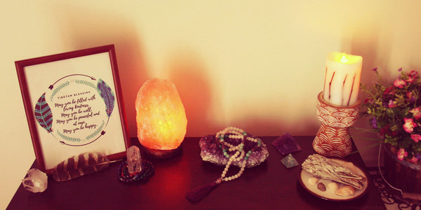 Meditation Altar: A Sacred Space