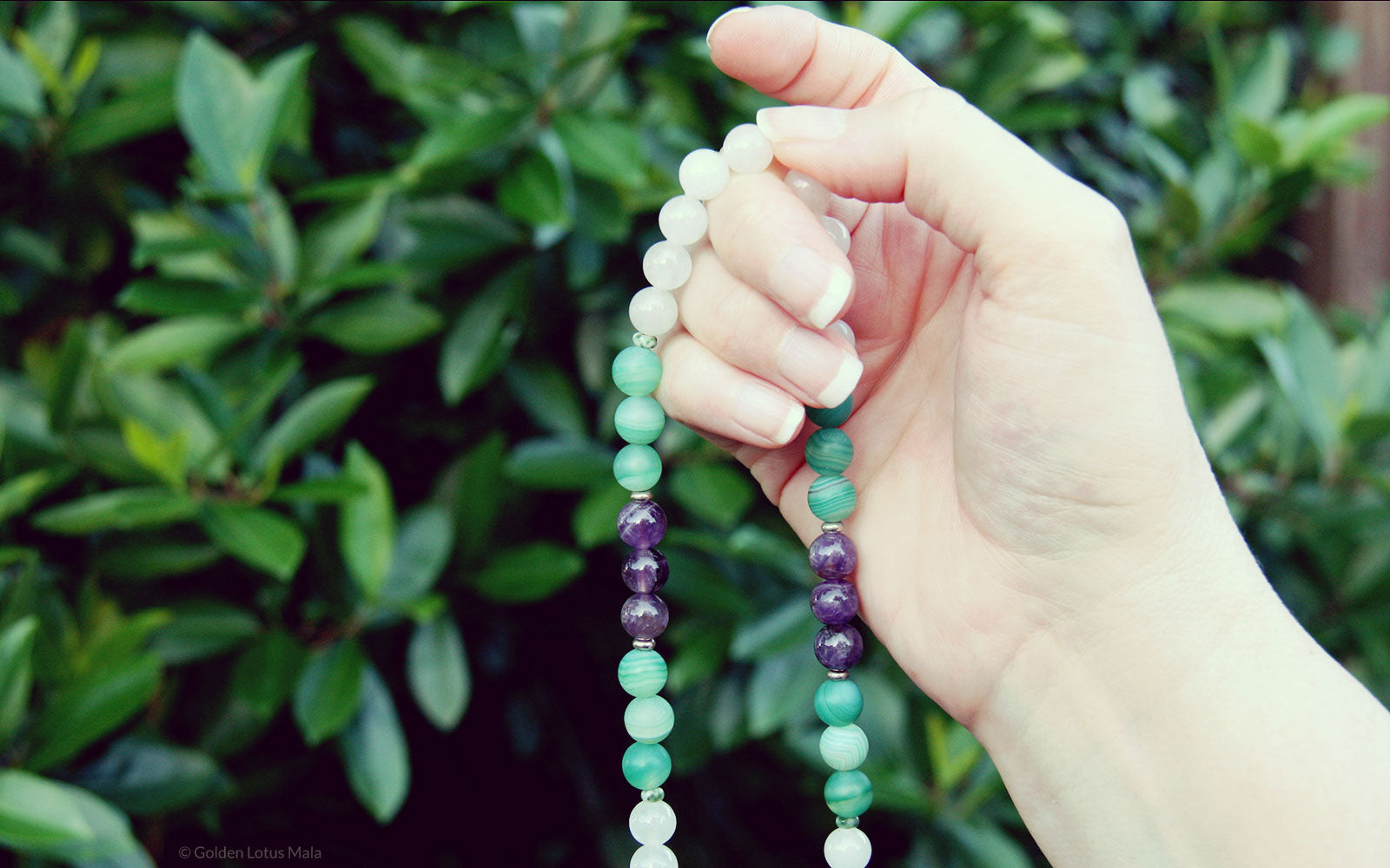 Holding Mala Beads the Proper Way