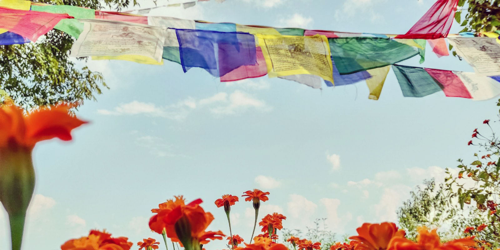 Mantra Prayer Flags