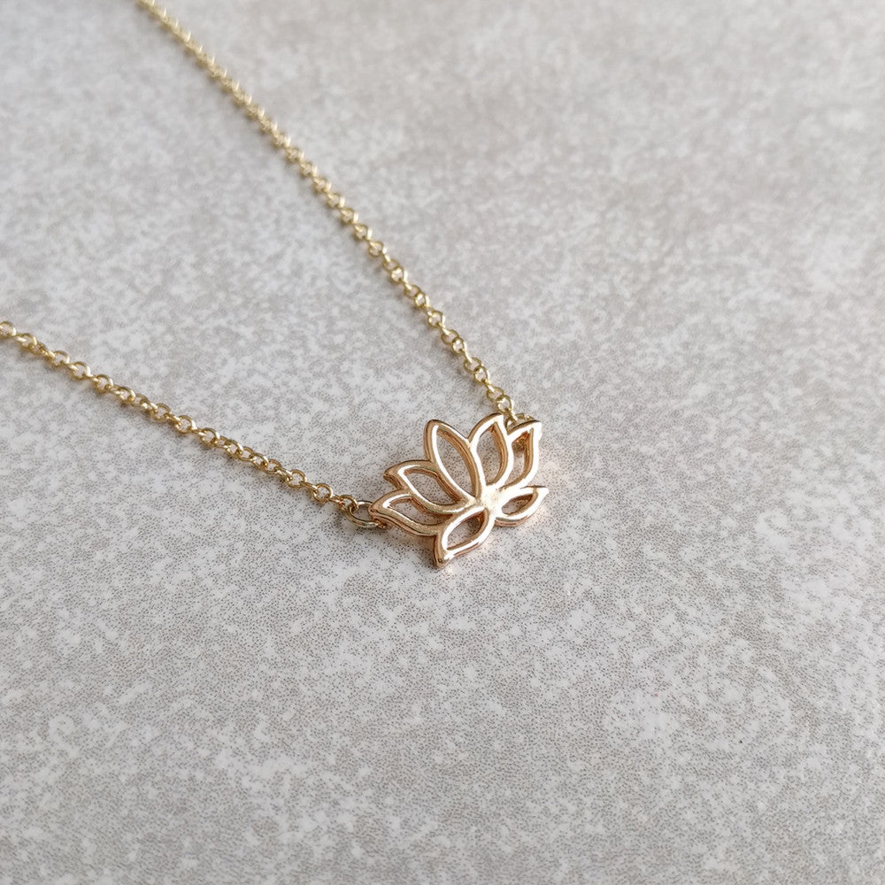 com notonthehighstreet by original misskukie dainty gold necklace product