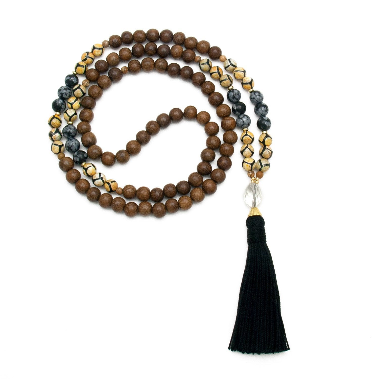 Scorpio Mala Necklace by Golden Lotus Mala