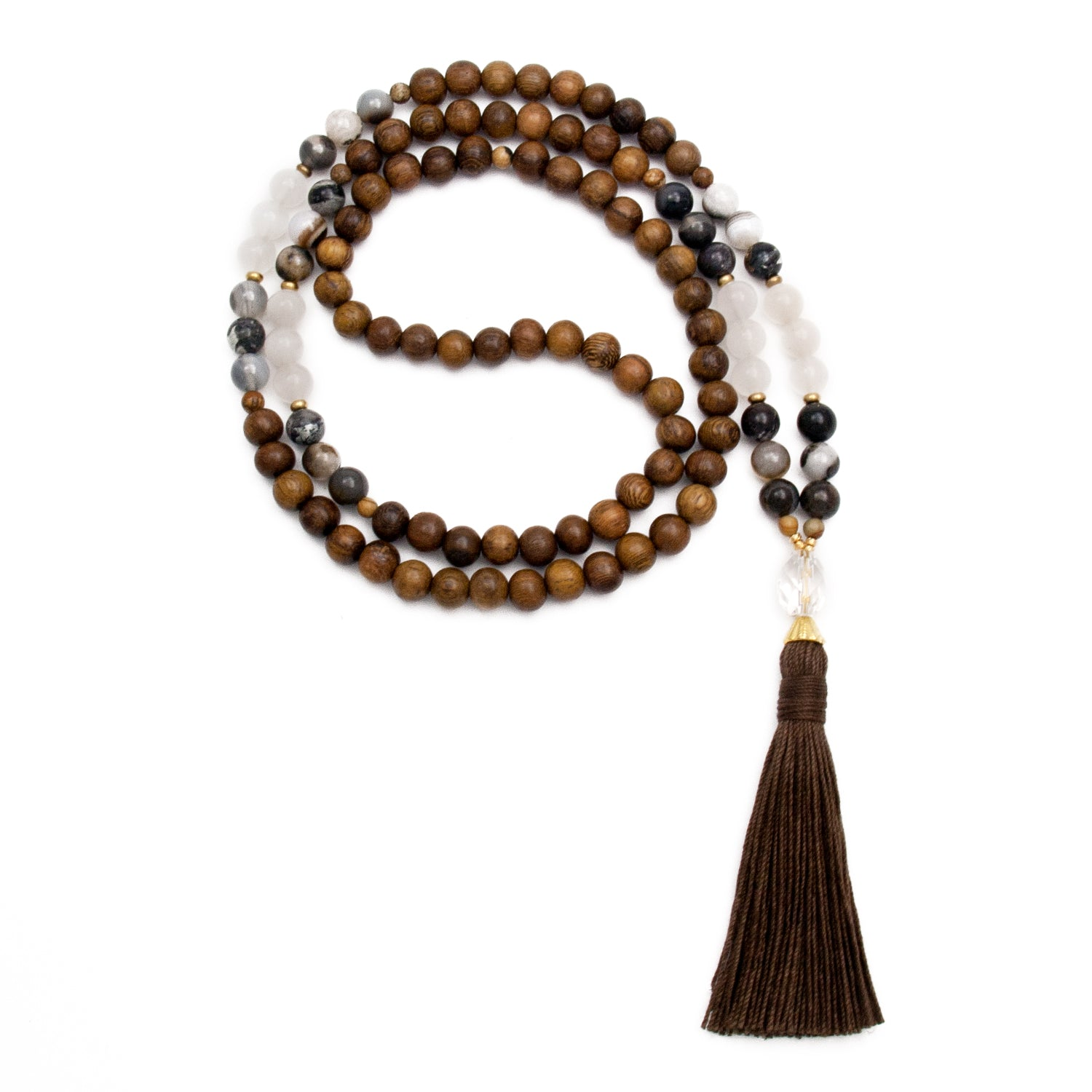Capricorn Mala by Golden Lotus Mala