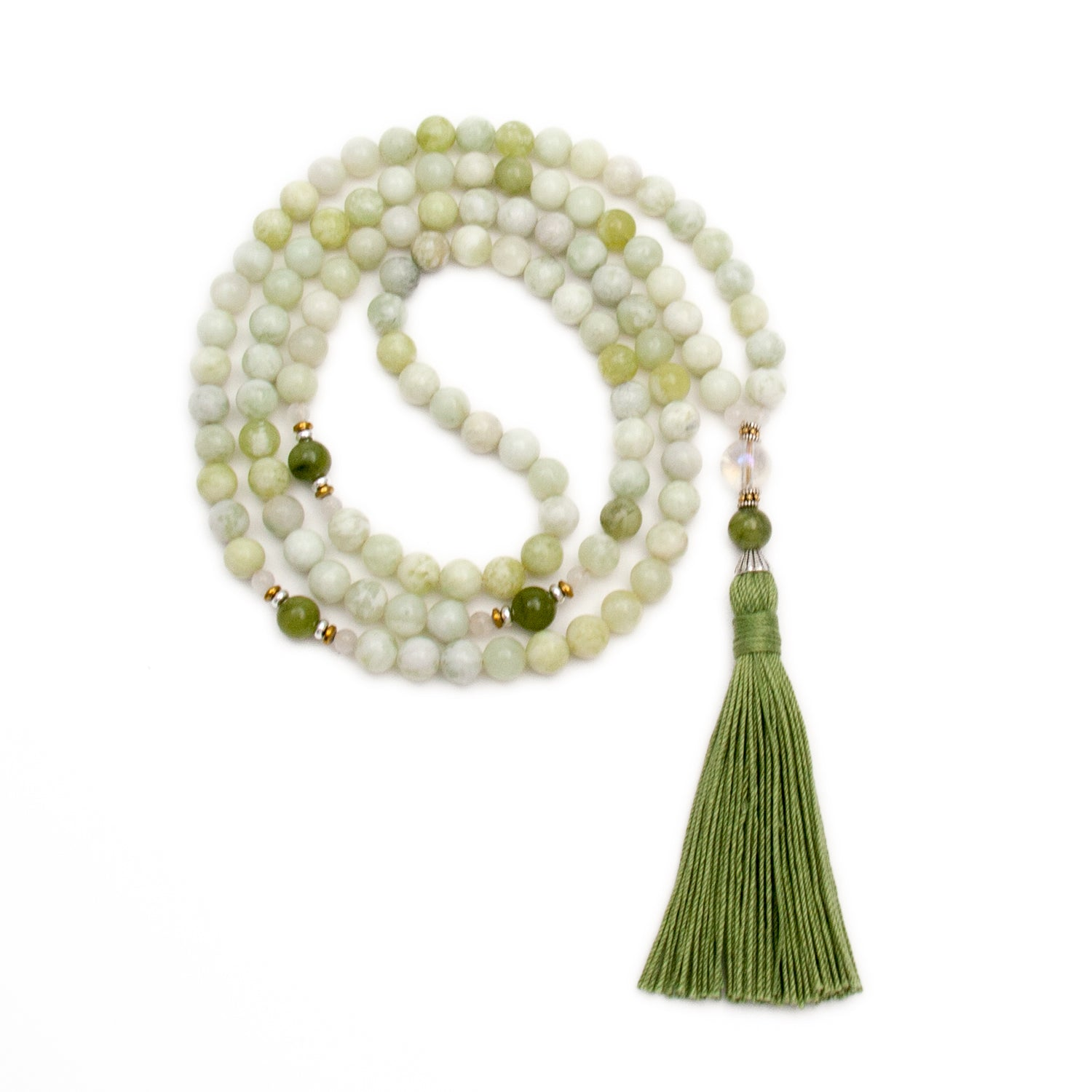 Prosperity Mala - New Jade