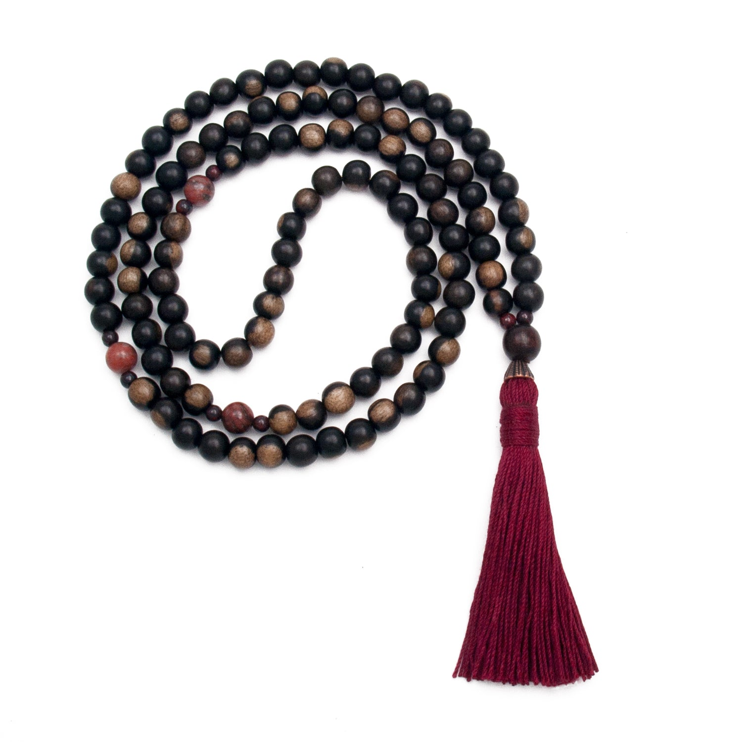 Willpower Mala - Jasper & Ebony