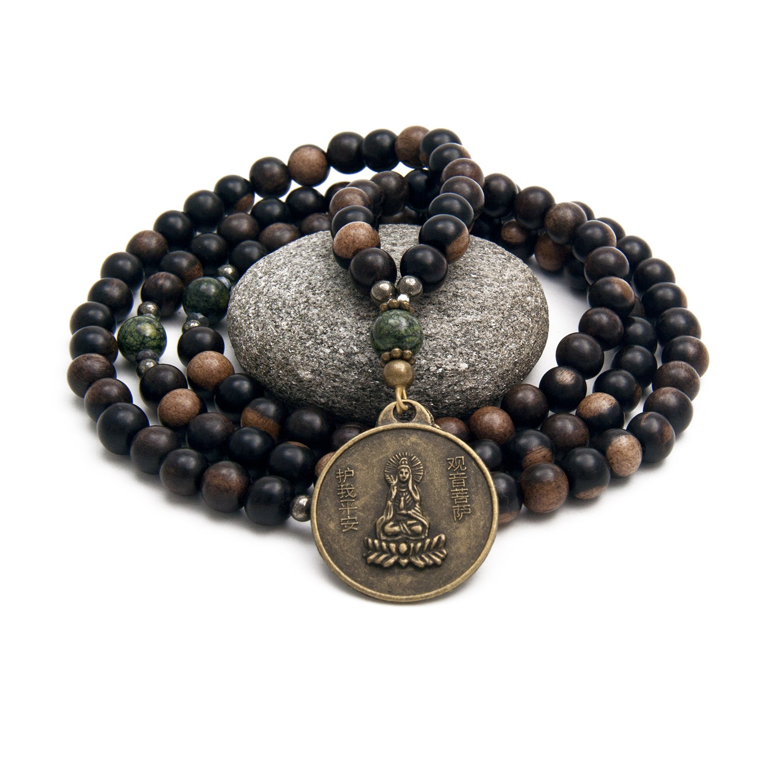 Guan Yin Mala Prayer Beads