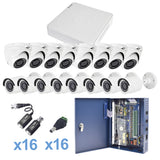 720p TurboHD system, includes 16 ch DVR